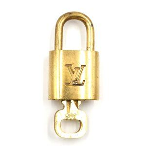 Louis Vuitton Gold Keepall Speedy Lock Key Set#308